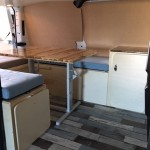 Camp In Van sur Ford Transit Custom
